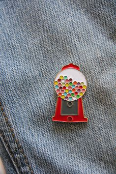 Gumball Enamel Pin by ThePennyPaperCo on Etsy