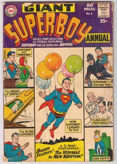 Uncertified DC Silver Age Superboy Comics Not Signed Old Comics, Dc Comics Art, Vintage Comics, Vintage Books, Dc Comic Books, Comic Book Artists, Comic Book Covers, Comic Art, Silver Age Comics
