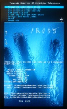 Bypassing Android encryption by freezing android phones - E Hacker News