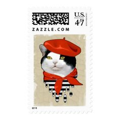 cat. Frenchman Postage Stamp