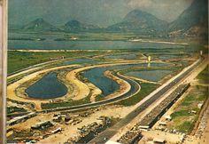 Autódromo de Jacarepaguá, retirada de uma Revista Manchete do início de 1967