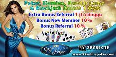 Poker Pro Indonesia : 99onlinepoker Website Poker Pro Yang Menyediakan Semua Varian Permainan Dengan Melibatkan Pertaruhan Untuk Memperoleh Keuntungan Dari Hasil Suatu Pertandingan, Dan Menentukan Masing - masing Tangan Dengan Komibinasi Kartu Pemain Yang Baik Dari Hasil Yang Tidak Dapat Di Duga.