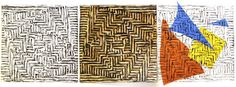 Corrugated Cardboard Relief Prints  Submitted by: Robin Mendenhall, at Pittsfield Elementary School, Ann Arbor, MI UNIT: Printmaking - Op...