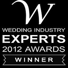 Wedding Industry Award Winner 2012