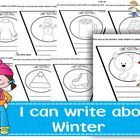 "Looking for an innovative, interactive way to introduce, review or practice writing skills? Then this ""I can write about Winter"" interactive pennan... $3.00"