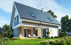 Projekt domu Viking 3 - wizualizacja tylna
