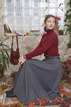 Chalah 2015-2016 Fall Collection #koleksiyon #moda #fashion #etek #trend #moda #chalah #sonbahar #kış