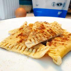 Fitness taštičky s tvarohem - zdravý recept Bajola