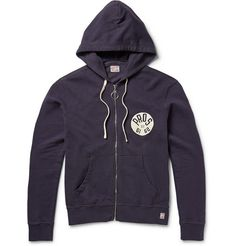 M.Nii Pros of 61 Printed Cotton-Jersey Hoodie   MR PORTER