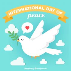 International Day Of Peace, Peace Dove, Domestic Violence, Our World, Colorful Pictures, Drawing Tips, Google Images, Vector Free, Crafts