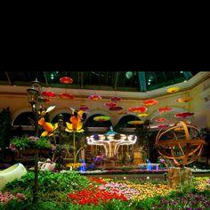 Bellagio spring theme Las Vegas.