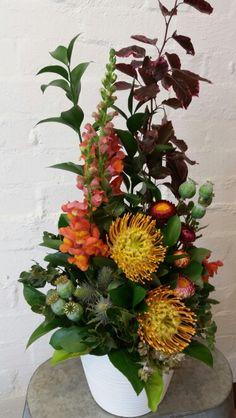 Corporate floral arrangement