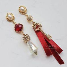 Weird Jewelry, Cute Jewelry, Metal Jewelry, Diy Earrings, Fashion Earrings, Pink Doll, Circlet, Latest Jewellery, Aesthetic Fashion