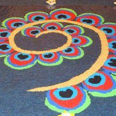 Rangoli Designs 100 Best Rangoli Designs For Diwali Easy & Simples Pattrens Chalk Art Designs Diwali Easy easy Chalk art Pattrens Rangoli simples Best Rangoli For Diwali, Diwali Diy, Diwali Party, Best Rangoli Design, Rangoli Designs Diwali, Rangoli 2017, Easy Chalk Drawings, Peacock Rangoli, Lotus Rangoli