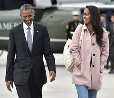 First daughter Malia Obama is '90s-fab in high-waisted jeans!