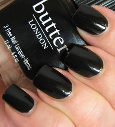 butter LONDON Union Jack Black. Three free nail polish. This company was the first to sell nontoxic nail polish in the US!