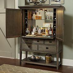 Hammary Park Studio Bar Cabinet