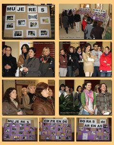 Homenaje a las mujeres trabajadoras y emprendedoras de Arenas de San Pedro en los actos de la Semana de la Mujer 2012.