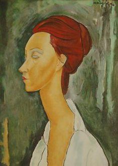 Amedeo Modigliani - Ritratto di Lunia Czechowska