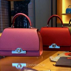 Rejane BB from Moynat in Red and Pink RM16,500 ❤❤❤ it? Order now. Once it's gone, it's gone! Just WhatsApp me +44 7535 715 239, Erwan.  Click my account name for other great items. #l2klMoynat #l2klMoynat #l2klMoynat