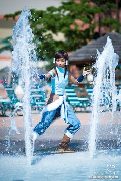Korra cosplay from Avatar: The Legend of Korra  Made and worn by *the-mirror-melts  Photo by ~RocknamLee  @ Colossalcon in Sandusky, Ohio