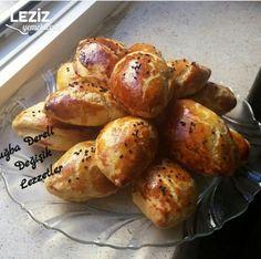 Kıyır Poğaça (Mayasız) Turkish Recipes, Ethnic Recipes, Muffins, Homemade Beauty Products, Pretzel Bites, Baked Potato, Health Fitness, Vegetables, Food