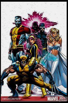 X-men Greg Land