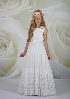 Moda Adolescentes y Niños Elegancia Estilo: Vestidos de Primera Comunion -Coleccion 2014