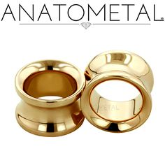 00ga Standard Eyelets in solid 18k yellow gold