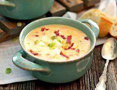 σούπα πατάτας βελουτέ