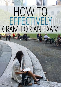 Don't waste your energy when there's more effective ways to use your time! Cramming can be hard! Read this post for valuable tips!