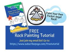 Get a FREE 6-page rock painting tutorial full of Pro Tips, images, and templates! Just join my email list. CLICK to join! #diyrockpainting #paintrocks #rockpainting #paintedrocks #rockpaintingtutorial Mask Painting, Pebble Painting, Pebble Art, Stone Painting, Hand Painted Rocks, Painted Stones, Painted Pebbles, Scripture Painting, Birthday Party Favors