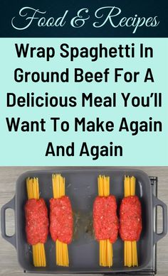 Wrap Recipes, Beef Recipes For Dinner, Cooking Recipes, Beef Dishes, Food Dishes, Yummy Food, Good Food, Ground Beef Recipes, Food To Make