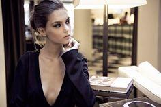 JESSICA CHOAY The Morning Dress . Photographer Vera Colombo . Model Iliana Chernakova . Location Hotel Milano Scala, Milan