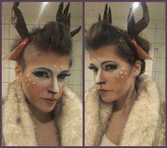 Chrix Design: Couture deer makeup