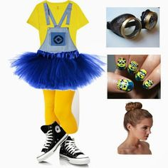 Awesome halloween costume if you want to look like a minion