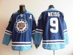 Florida Panthers 9 Stephen WEISS Jersey Navy Blue