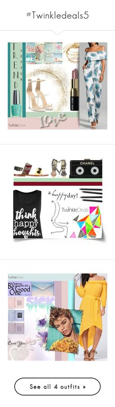 """""""#Twinkledeals5"""" by juromi ❤ liked on Polyvore featuring trend, women, powerful, twinkledeals and Nails Inc."""