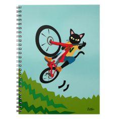 Bike Action Notebook by BATKEI