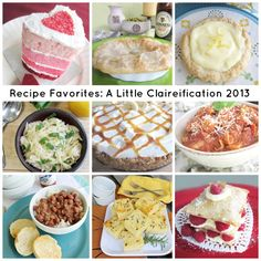 Delicious recipes from Claire!
