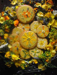 Sweet Magic: Summer Solstice Honey Cookies   gather