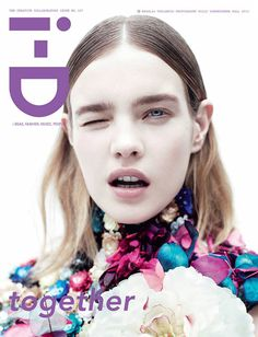 """Top model Natalia Vodianova by Willy Vanderperre for i-D Magazine, """"together"""""""