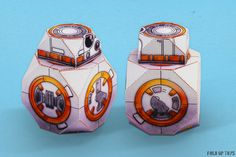 Print out your very own BB-8 Droid!