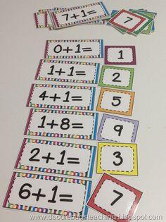 Back to school pocket chart activities