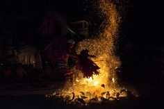 The Fire's Evocation Photo by Emanuele Del Bufalo -- National Geographic Your Shot