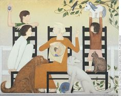 Three Chairs by Will Barnet on Curiator, the world's biggest collaborative art collection. Barnet, Eclectic Art, Figure Painting, Collaborative Art, Artist, Abstract Painting, Painting, Oil Painting, American Artists