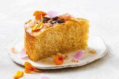 Gluten-free lemon syrup cake