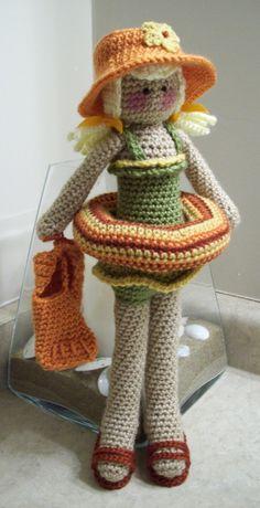 Dani Rae crochet doll PDF pattern by KTBdesigns on Etsy, $5.00