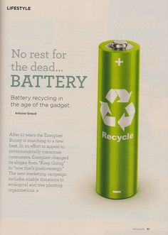 Battery Recycling Battery Recycling, Red Bull, Make It Yourself, Bottle, Digital, Life, Articles, Flask, Jars