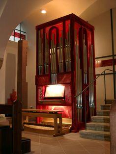 Orgel Neumünsterkirche Würzburg, Kreuzkrypta